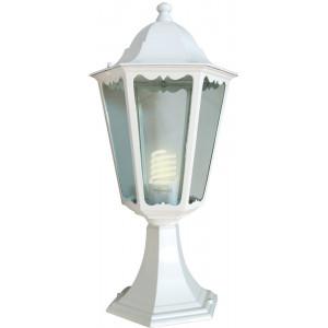 Светильник садово-парковый 6104 60W 230V E27 170*150*370мм белый