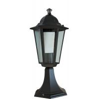 Светильник садово-парковый 6104 60W 230V E27 170*150*370мм черный