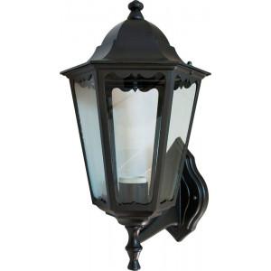 Светильник садово-парковый 6201 100W 230V E27 225*195*380мм черный