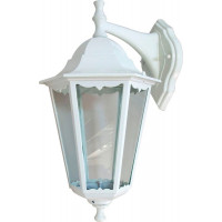Светильник садово-парковый 6202 100W 230V E27 225*195*380мм белый