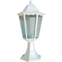 Светильник садово-парковый 6204 100W 230V E27 195*195*455мм белый