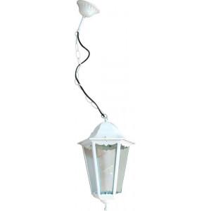 Светильник садово-парковый 6205 100W 230V E27 195*195*310мм белый