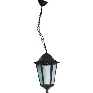 Светильник садово-парковый 6205 100W 230V E27 195*195*310мм черный