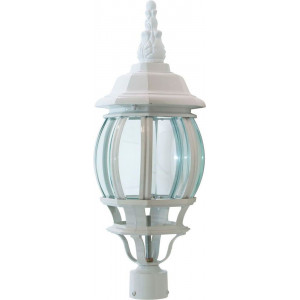 Светильник садово-парковый 8103 100W 230V E27 160*160*410мм белый