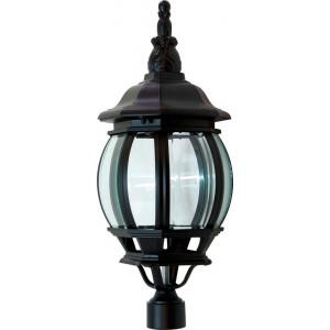 Светильник садово-парковый 8103 100W 230V E27 160*160*410мм черный