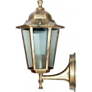 Светильник садово-парковый 6101 60W 230V E27 150*200*320мм черное золото