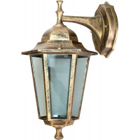Светильник садово-парковый 6102 60W 230V E27 150*200*320мм черное золото