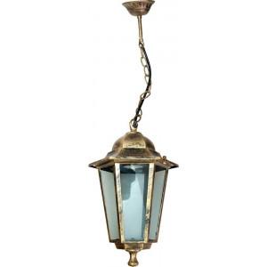 Светильник садово-парковый 6105 60W 230V E27 150*170*280мм черное золото