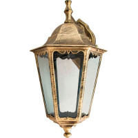Светильник садово-парковый 6202 100W 230V E27 225*195*380мм черное золото (новый цвет)