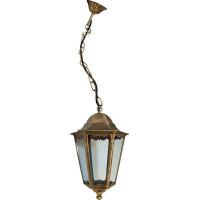 Светильник садово-парковый 6205 100W 230V E27 195*195*310мм черное золото (новый цвет)