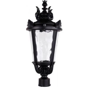 Светильник садово-парковый PL4003 60W 230V E27 230*230*480мм  черный (на столб)