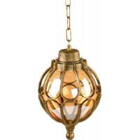 Светильник садово-парковый PL3805 60W 230V E27 220*220*340мм  черное золото (на цепочке)