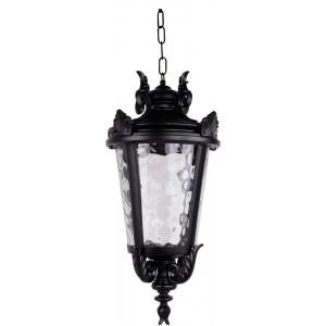 Светильник садово-парковый PL4005 60W 230V E27 230*230*460мм  черный (на цепочке)