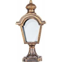 Светильник садово-парковый PL4013 60W 230V E27 170*100*345мм черное золото (на постамент)