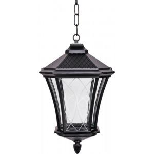Светильник садово-парковый PL4034 60W 230V E27 230*230*390мм черный (на цепочке)