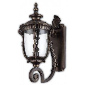 Светильник садово-парковый PL5001 60W 230V E27 290*190*460MM темно-коричневое золото (на стену вверх)