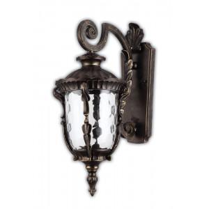 Светильник садово-парковый PL5012 100W 230V E27 370*235*560MM темно-коричневое золото (на стену вниз)