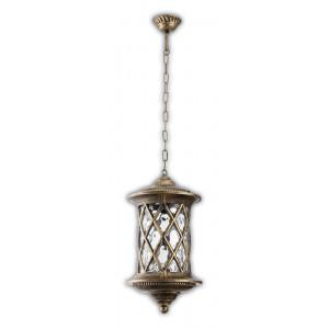 Светильник садово-парковый PL5035 100W 230V E27 240*240*950MM черное золото (на цепочке)