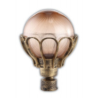 Светильник садово-парковый PL5043 60W 230V E27 230*230*315MM черное золото (на столб)