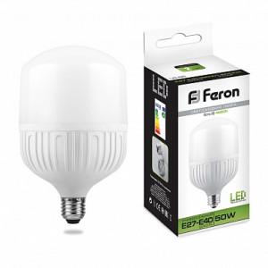 Лампа светодиодная Feron LB-65 E27-E40 50W 6400K