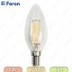 LB-58 4LED(5W) 230V E14 2700K филамент свеча