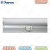 Светильник светодиодный линейный TL AL5028 176SMD (3014) 4500K 18W 1600Lm с выключателем и сетевым шнуром, 1150*22*34