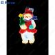 """Световая фигура """"снеговик"""", 4м """"рис"""" лапмы мульти, 36 ламп/1м, 45*67см LT019"""