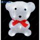 """Световая фигура """"медведь маленький"""", 10 LED белый, батарейки 2*АА, 13,5х11х16см LT024"""