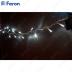 Гирлянда линейная, 40 LED 4000K, 4м +1.4м прозрачный шнур CL03