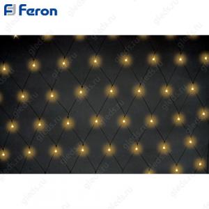 "Гирлянда ""сетка"", 160 ламп накаливания белый, 2х1м + 8м CL31"