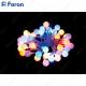 "Гирлянда ""шарики на присоске"", 40 LED мульти, батарейки 3*АА, 4м + 0.5м CL556"
