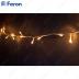 Гирлянда линейная, 200 LED 3300K, 20м + 5м прозрачный шнур CL06