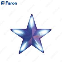 "Световая фигура ""звезда"", 70 LED синий, 51*51см LT030"