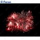 """Гирлянда """"мишура"""", 20 LED красный, батарейки 2*АА, 2м + 0.5м CL404"""