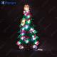 """Световая фигура """"Ёлка"""", 20 LED (белый), 44*23*2 см LT032"""