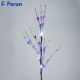 Ветка фиолетовый цветок, 4LED, 62 см LD209B