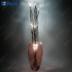 Ветка коричневая, 15 LED, 75 см LD213B