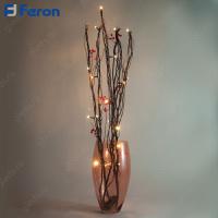 Ветка с ягодами , 20 LED, 75 см LD214B