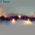 "Гирлянда ""мишура фиолетовая"" 20 LED, 2м CL800"