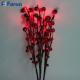 Ветка с ягодами в промо-упаковке 30 LED, 55,8 см LD216B
