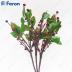 Ветка с ягодами и листьями в промо-упаковке 30 LED, 55,8 см LD217B