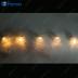 "Гирлянда ""шары стеклянные серебристые"" 6 LED, 0.7 m+0.5m CL111"