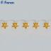 """Гирлянда """"золотые звезды"""" 10 LED, 0.9м+0.3m CL553"""