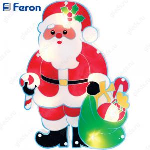 "Световая фигура ""Санта"" 15 LED, мультиколор, 35*25см LT056"