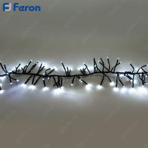 "Гирлянда ""Гроздь"" 168 LED (белый 6400К), 1,5м + 1,5м CL59"