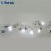 "Гирлянда ""Карнавал"" (серебро) 20 LED (теплый белый 2700К), 2м + 1,5м CL62"