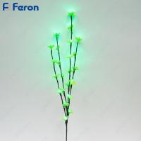 Ветка сакуры, 24 LED (зеленый), 80 см LD207B