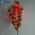 Ветка ели, 24 LED (красный), 80 см LD208B