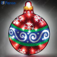 """Световая фигура """"Новогодний шар"""" 20 LED (белый 6500К), 1,5м шнур LT036"""