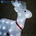 """Световая фигура акриловая """"Олень маленький"""" 40 LED (белый 6500К), 32*12*36 см, 1,5м шнур LT039"""